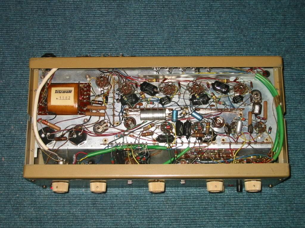 Tc K H Telewatt Vs55 Vs66 Ecl82 Rhrenverstrker Amp Schematic Http Homeproviewcom Ecl82amplifierschematichtm