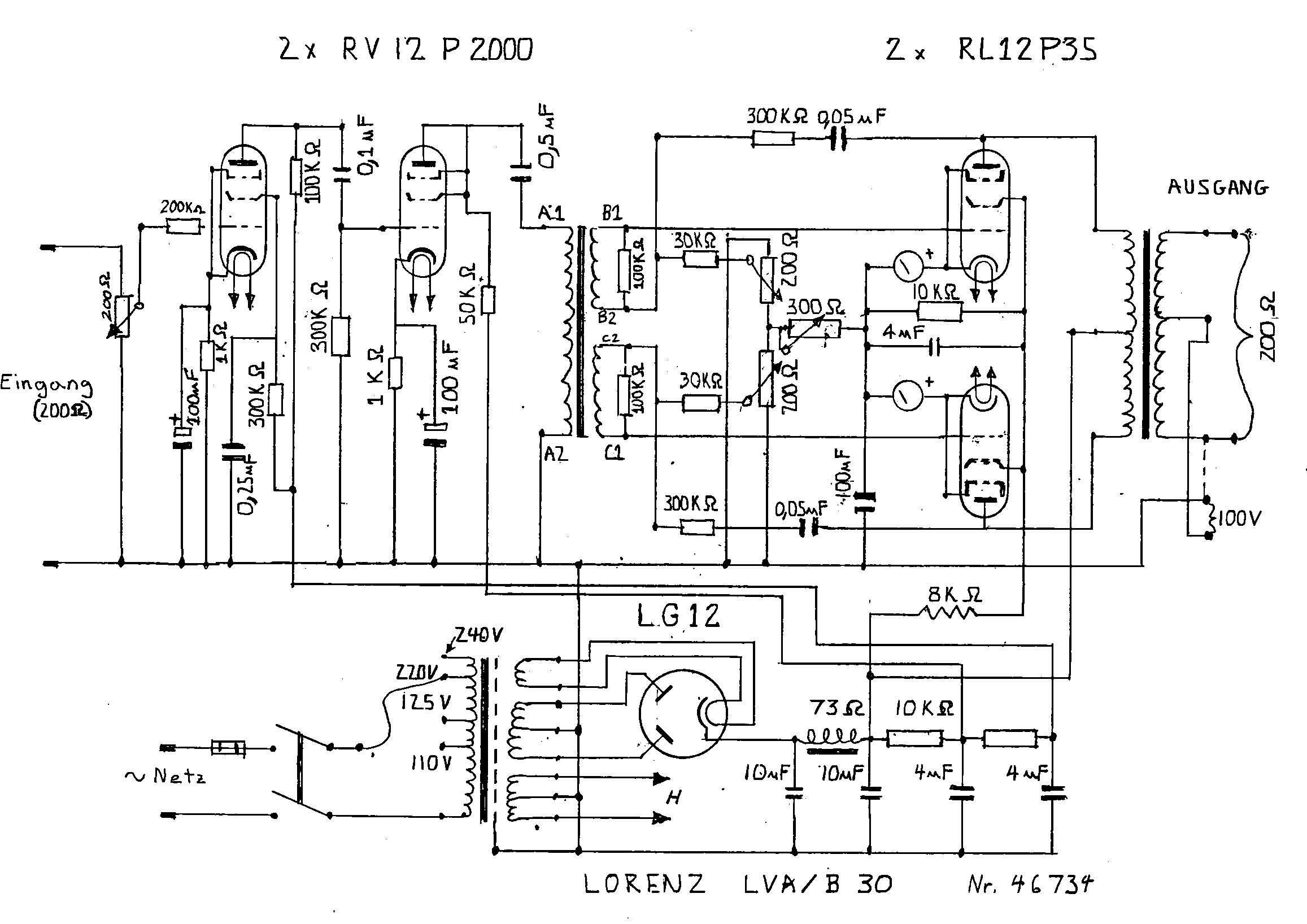 rl12p35 german transmitting pentodes  u2013 bartola u00ae valves