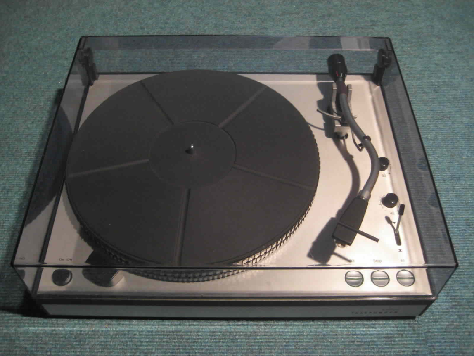 Tc Telefunken S500 S600 Turntable Record Player Www