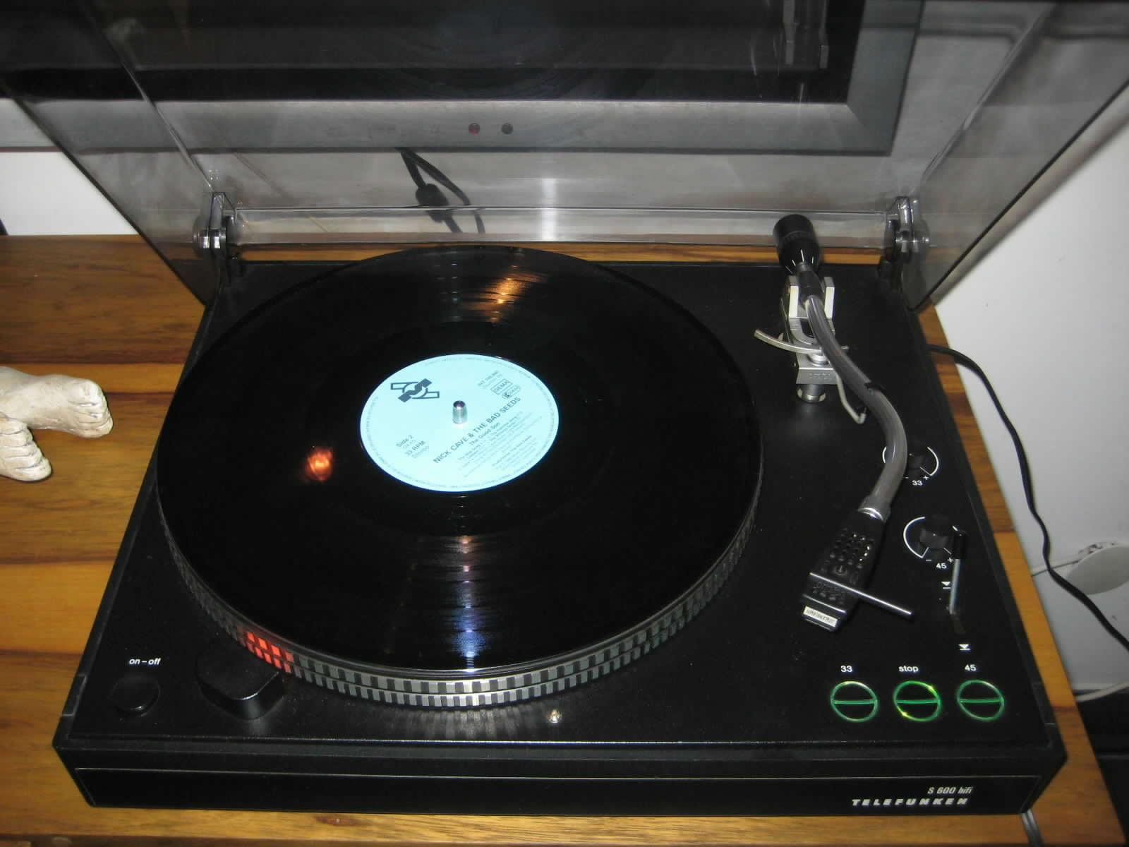 TC: Telefunken S500 S600 turntable record player - www ...