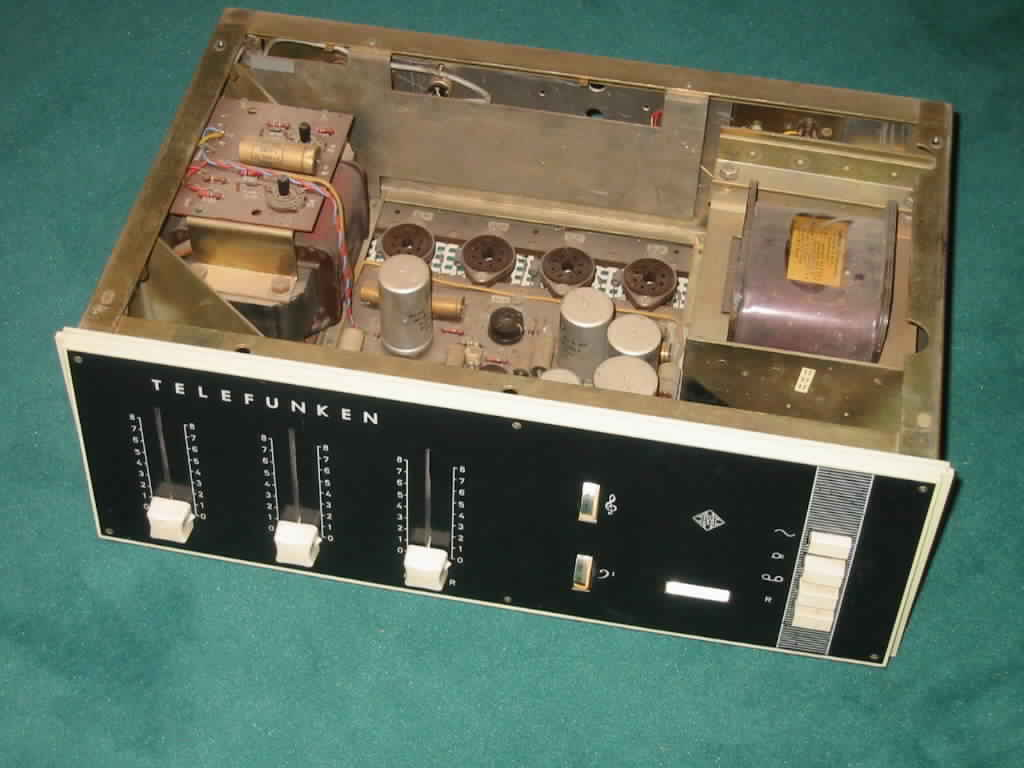A Telefunken EL34 with a